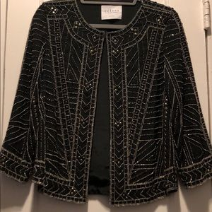 Velvet Embellished Blazer/Jacket
